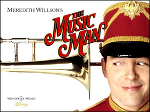 Matthew Broderick in The Music Man